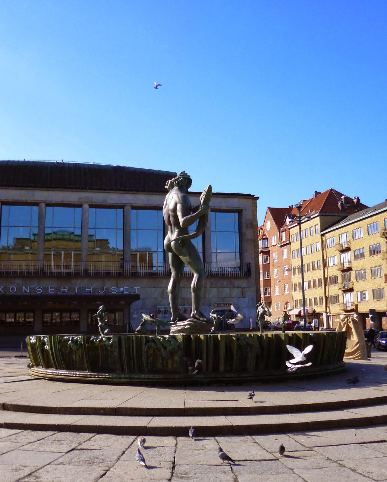 Götaplatsen fuente poseidon
