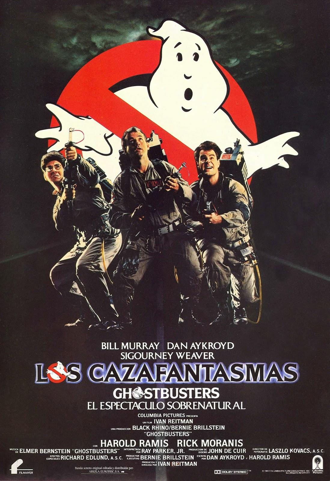 Cazafantasmas, una gran pelicula de 1984