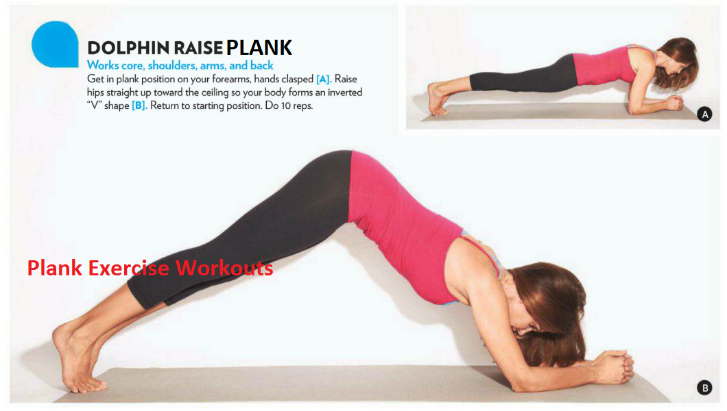 August 2013 | Plank Exercises Routine | Plank Variations
