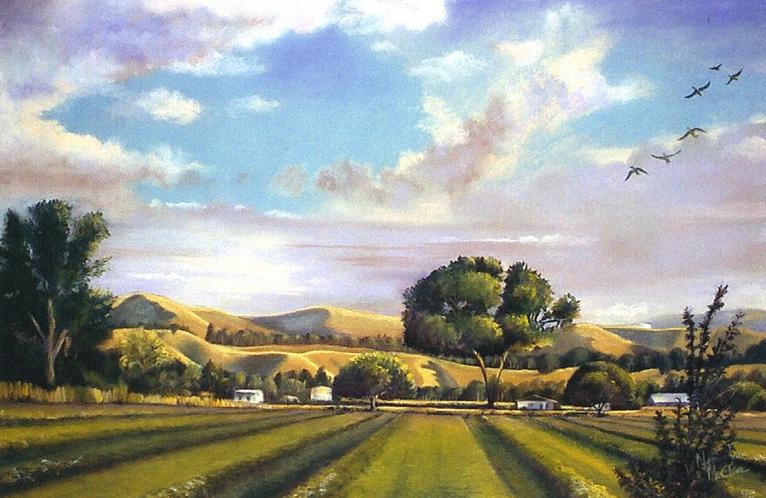 Landscape Chalk Paint