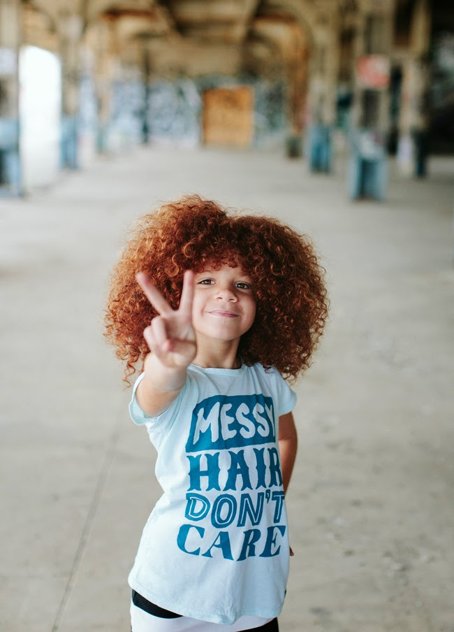 """Messy Hair, Don't Care"" by Quinn & Fox spring-summer 2015"