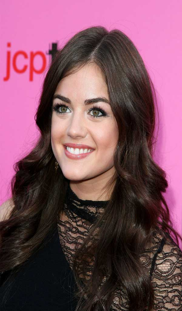 how to get lucy hale curls