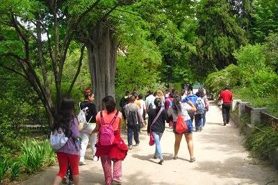 Blog de 6 curso jes s varela una ma ana en el real for Jardin botanico cursos