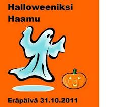 Halloweeniksi haamu