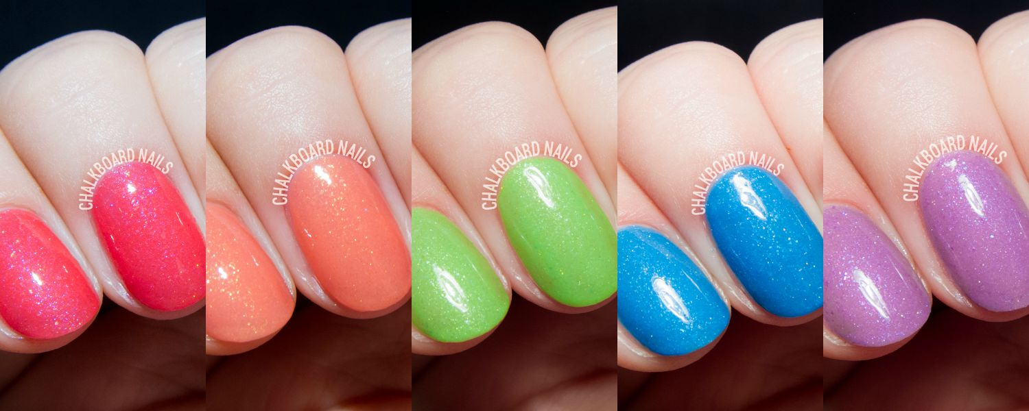 Serum No. 5's Shimmery Glow-in-the-Dark Nail Polishes for Spring/Summer 2015