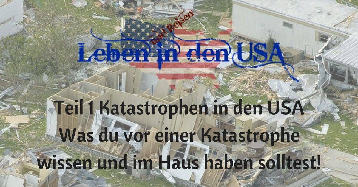 Katastrophen in den USA