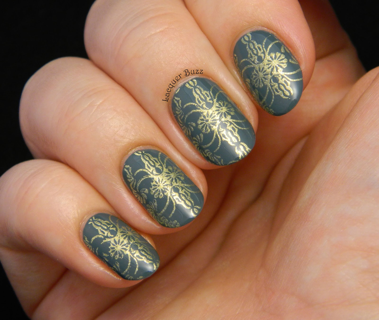 Vintage Nails: Lacquer Buzz: TPA Group Challenge: Vintage Nails