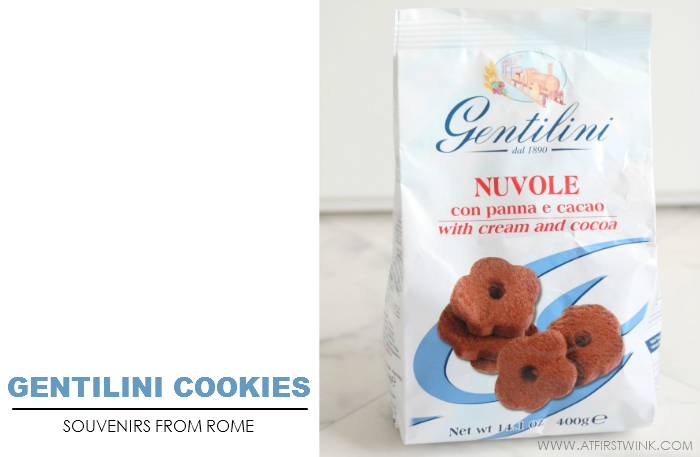 Gentilini cookies from Rome