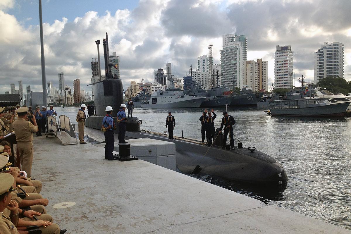 Armada Colombia ARC Tayrona