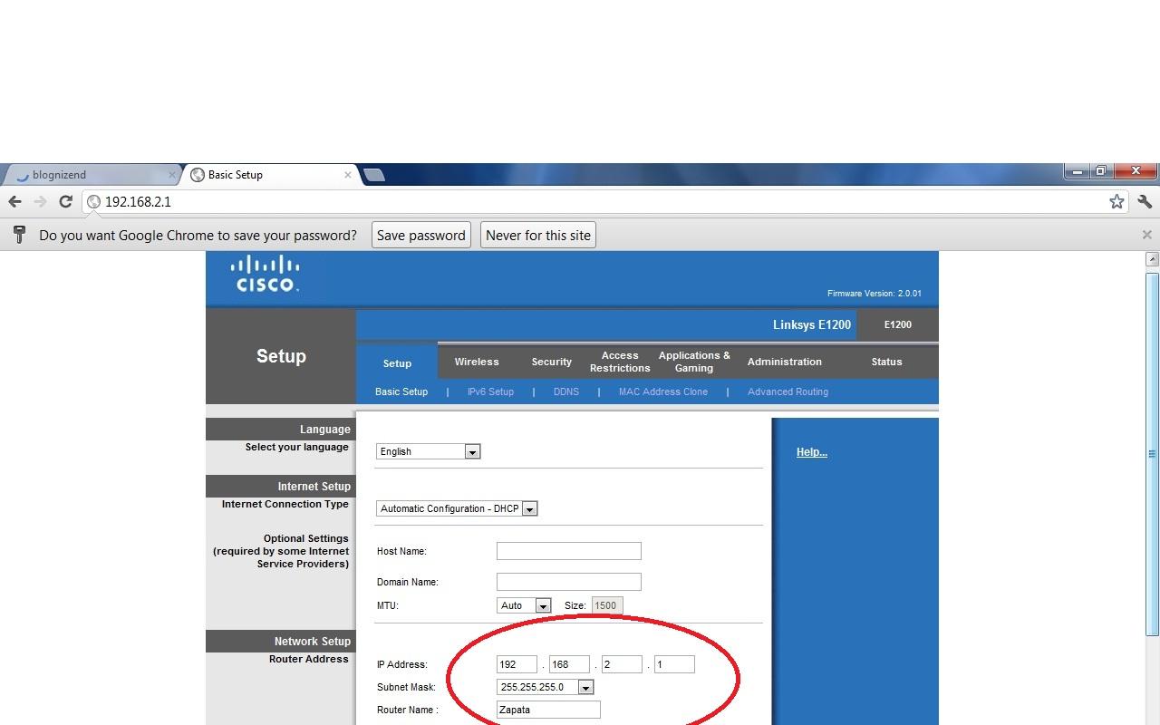 cisco linksys e1200 setup software