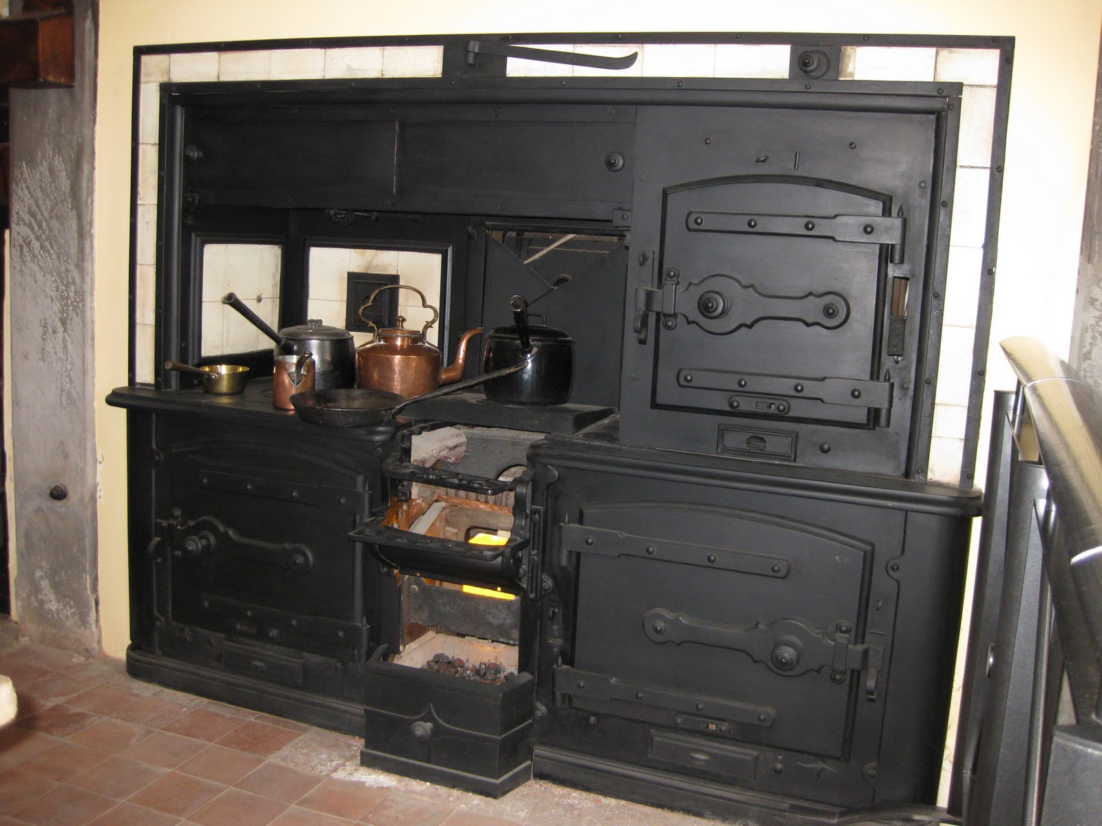 House Home Garden Original Victorian Kitchen Range