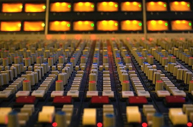 Music mixing image