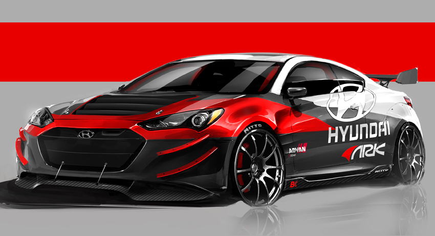 Ark Performance To Unveil Hyundai Genesis Coupe R Spec Track Edition At 2012 Sema Show