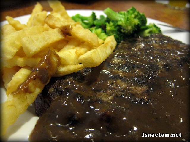 #1 Grilled Steak - RM27