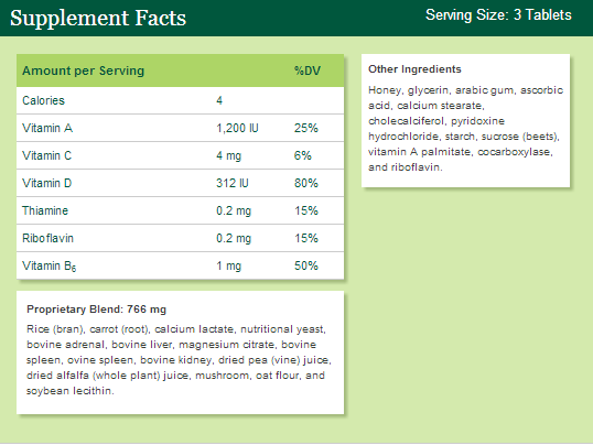 What Is Whole Food Supplement