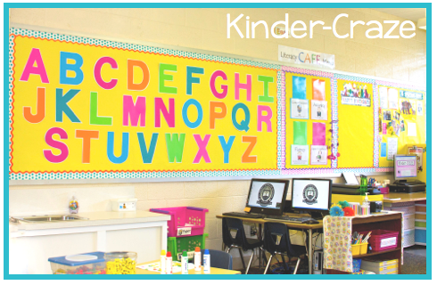 kindergarten alphabet wall