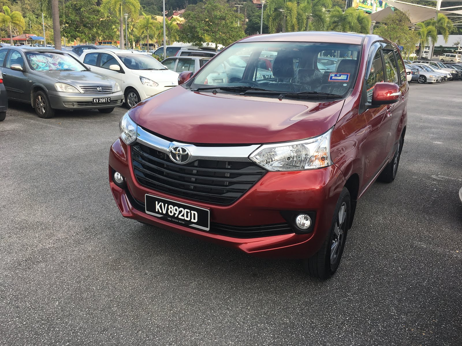 TOYOTA AVANZA NEW MODEL