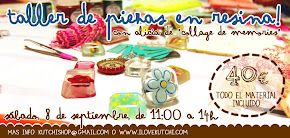 Taller de resina - 8 setiembre 2012