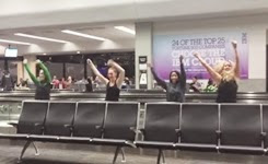 Flawless Dance in SFO Airport
