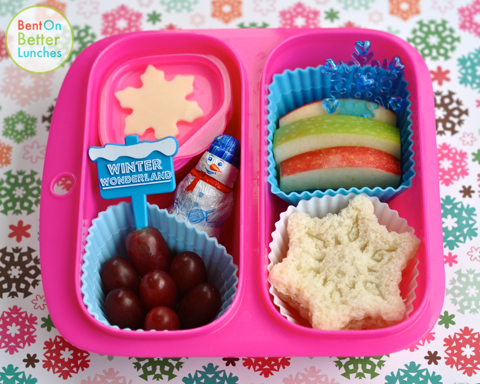 Frosty Preschool Bento Lunch