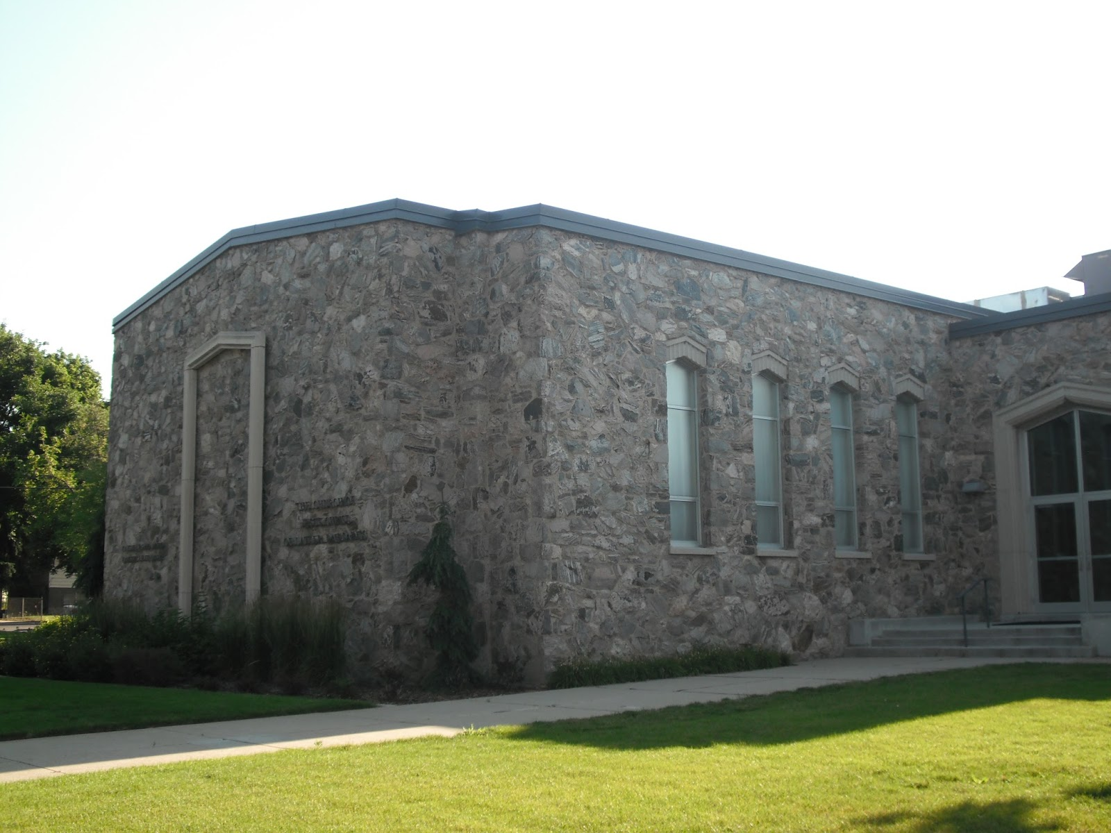 Historic lds architecture kaysville second ward rock chapel Building a house in utah