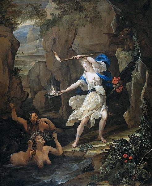 odysseus circe van der neer