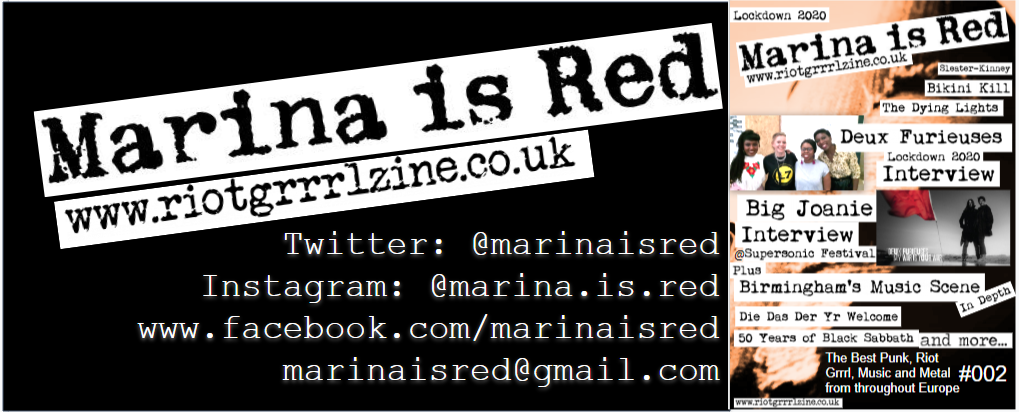 Marina is Red Zine