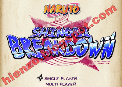 Download Game Naruto Shinobi Breakdown