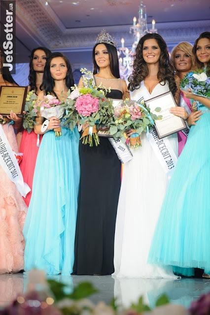 Miss Ukraine Universe 2013 winner Olga Storozhenko