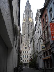 Catedral de Sta. María -Amberes - parte antigua
