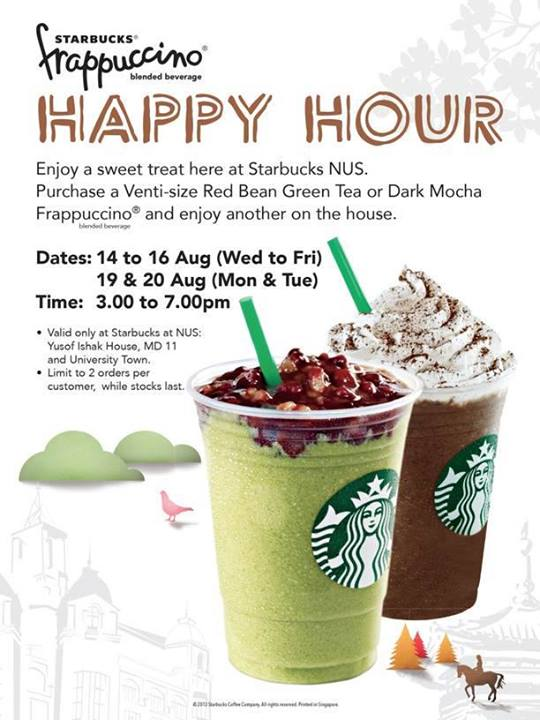 singapore starbucks marketing Mobile order and pay, the firm's mobile order-ahead program, also continues to grow the feature, a part of starbucks' app, allows customers to order items ahead of.
