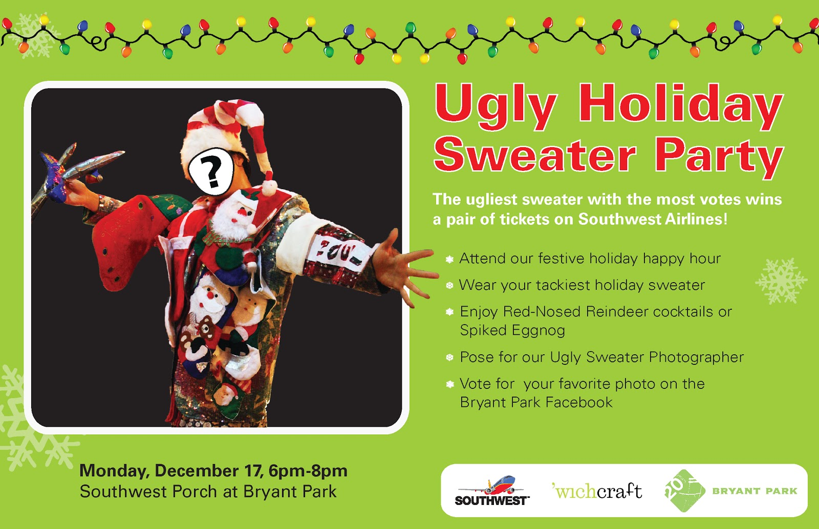 Ugly Christmas Sweater Invites is nice invitation template