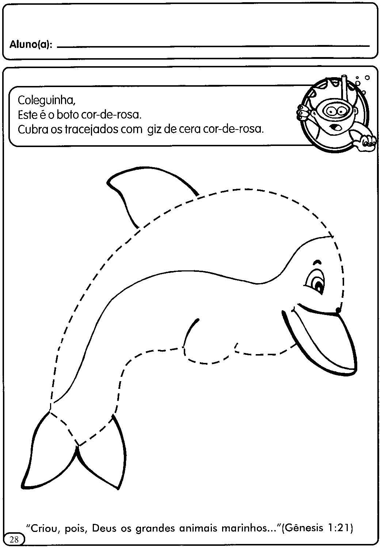 Extremamente ATIVIDADES COM TRACEJADO PARA MATERNAL | Cantinho do Educador Infantil EI06