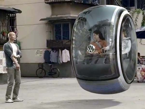 Volkswagen concept car Beijing China The peoples car project