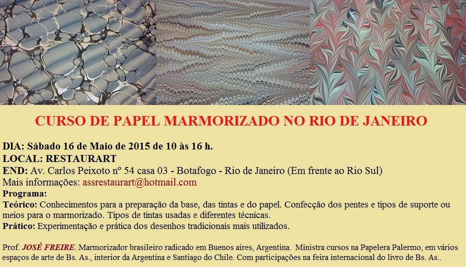 Curso no Rio de Janeiro