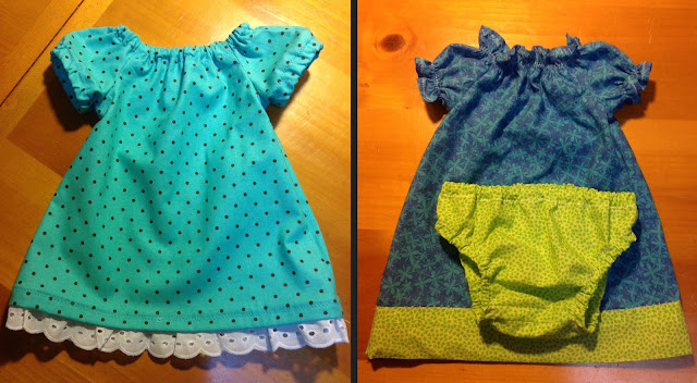 Baby dresses by my amazing mom