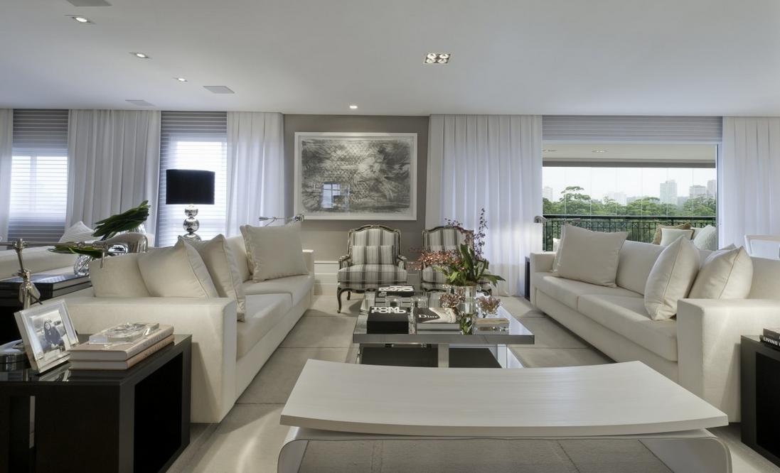 Sala De Estar Sofisticada ~  salas maravilhosas e sofisticadas com elas!  Decor Salteado  Blog de