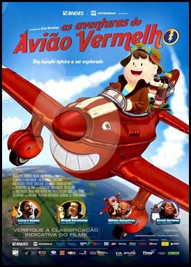 As Aventuras do Avião Vermelho - Nacional