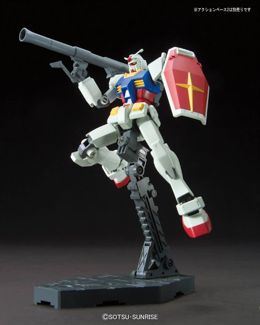 HGUC 1/144 RX-78-2 Gundam Revive Version bazooka shoot