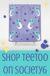 ♥ Teetoo Society6 ♥