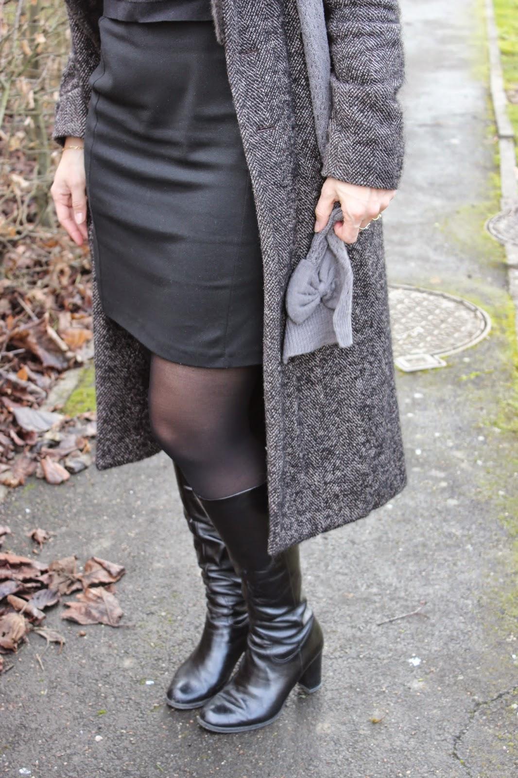 robe transformé en jupe avec pull court
