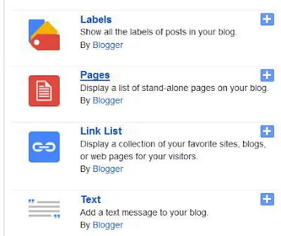 Cara Membuat Halaman di Blogspot