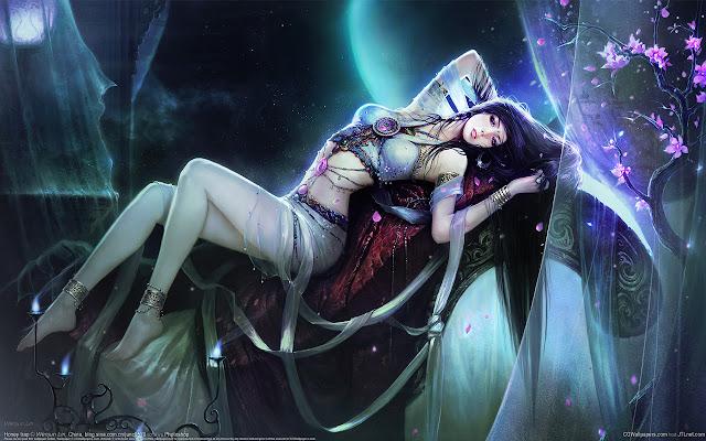 Sexys Dibujos de Mujeres - Elfas