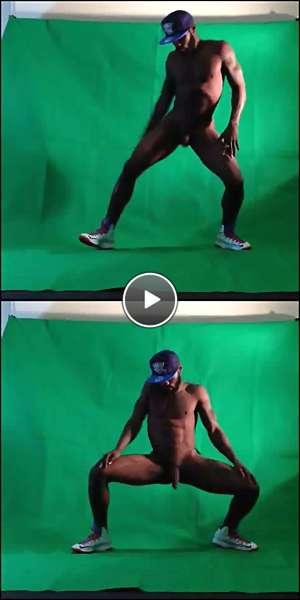 black gay nude video