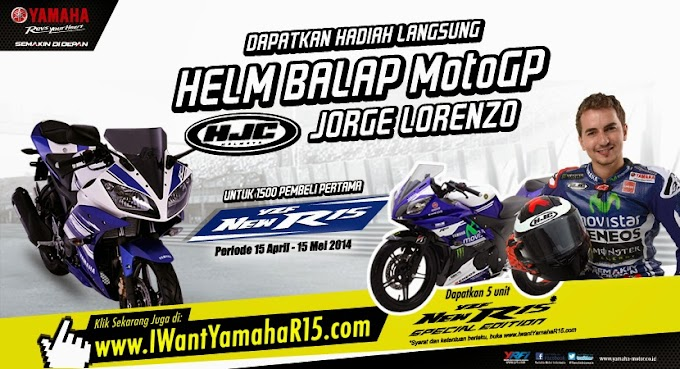 18 Jam Tembus 1100 Pemesan Yamaha R15