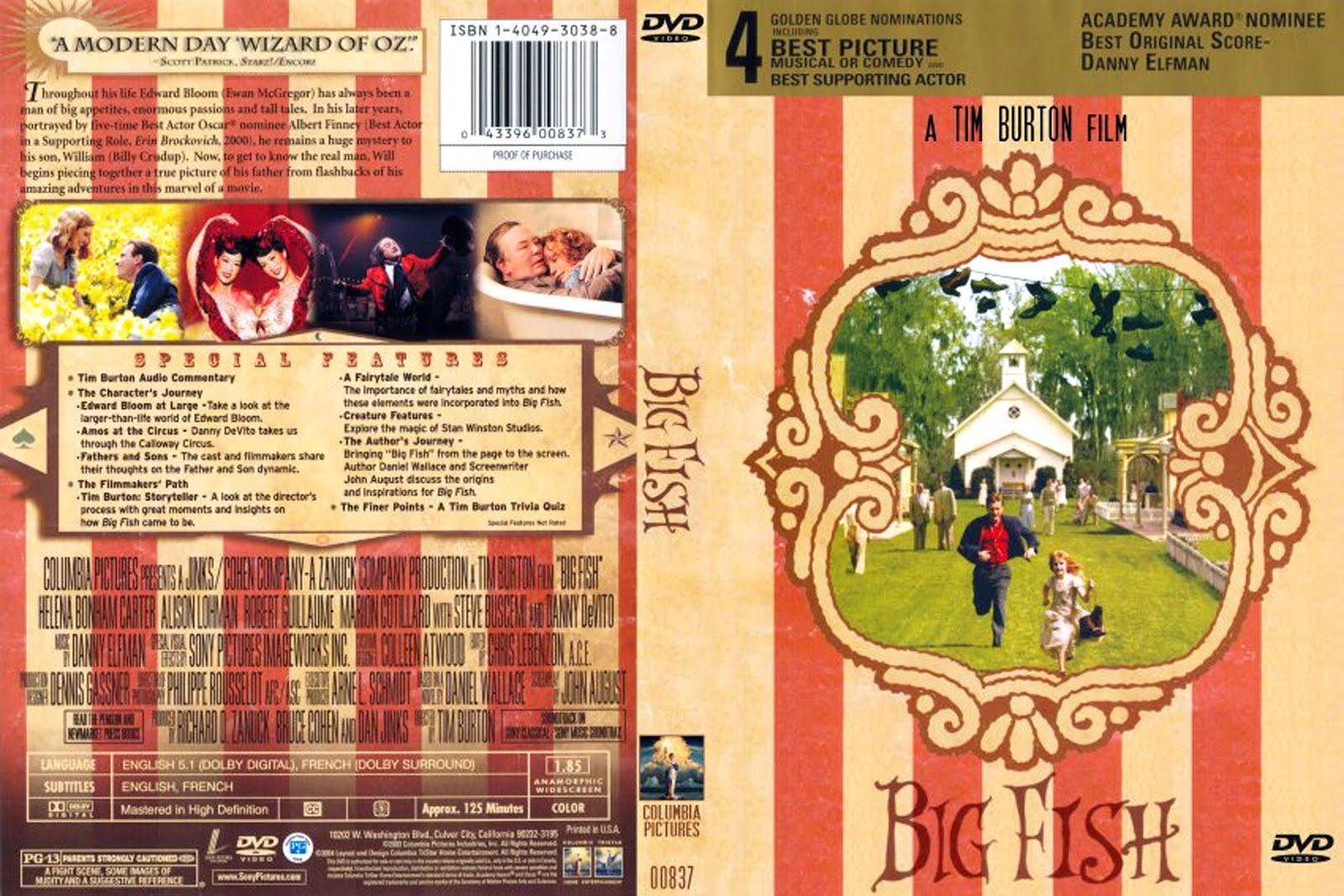 Big Fish Dvd Cover