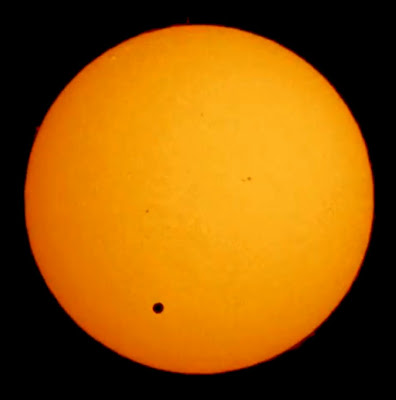 Venus Transit seen from Canberra, Australia