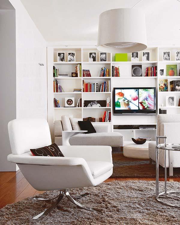 Decoraci n y afinidades la televisi n un espacio para ella - Decoracion mueble tv ...