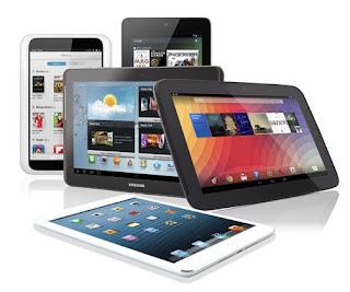 Harga Tablet Terbaru Bulan Desember 2013