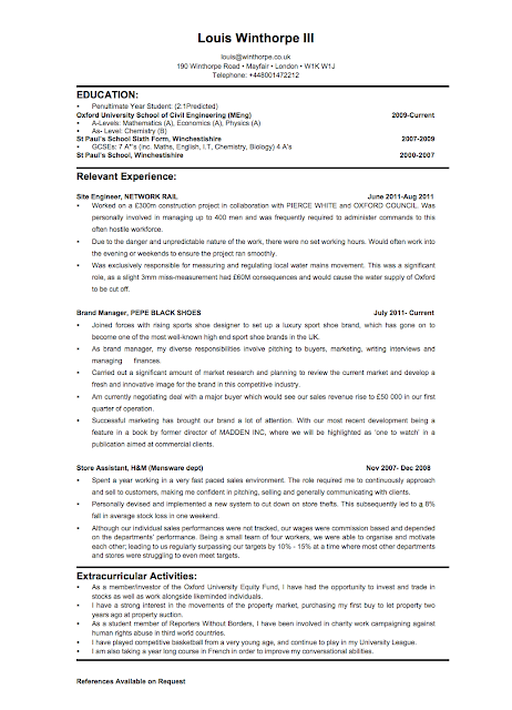 Investment Banking Resume: BEFORE And AFTER  Investment Banking Resumes